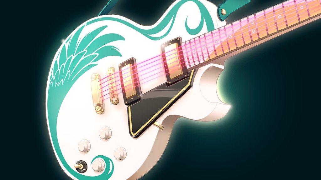 Aine's Guitar