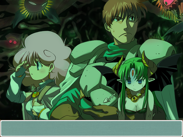 Rance didn't sign up to be a hero, though- he just wanted the booty.