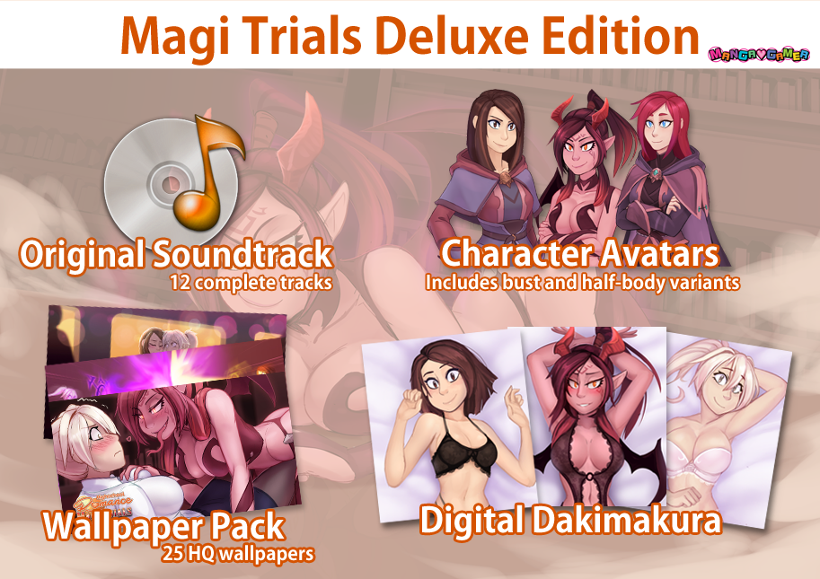 Magi Trails Deluxe Edition