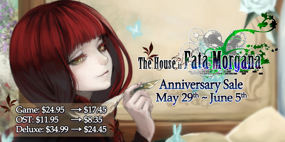 The House in Fata Morgana Anniversary Translator's Comments