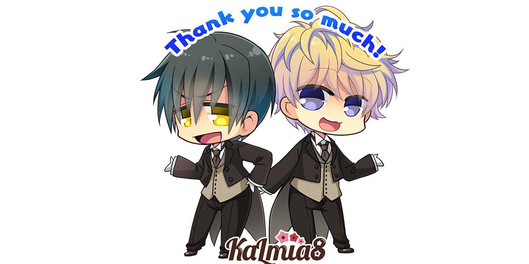 Thank You from Kalmia8!