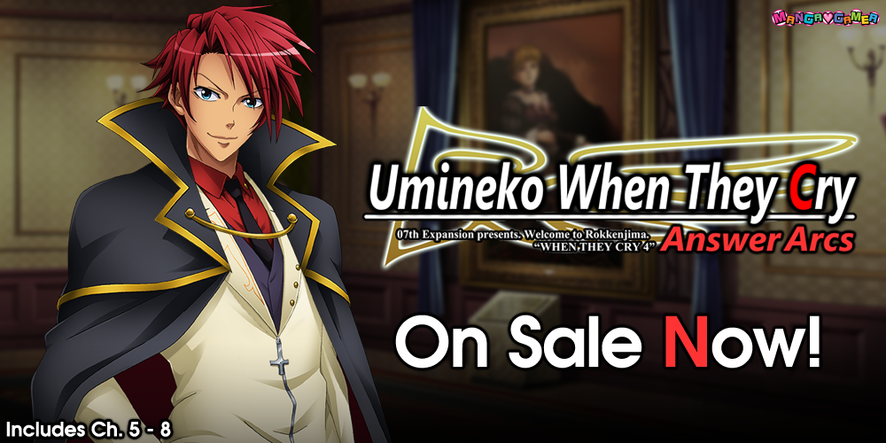 Umineko Chapters 5-8 Now Available! + Comment from Ryukishi07