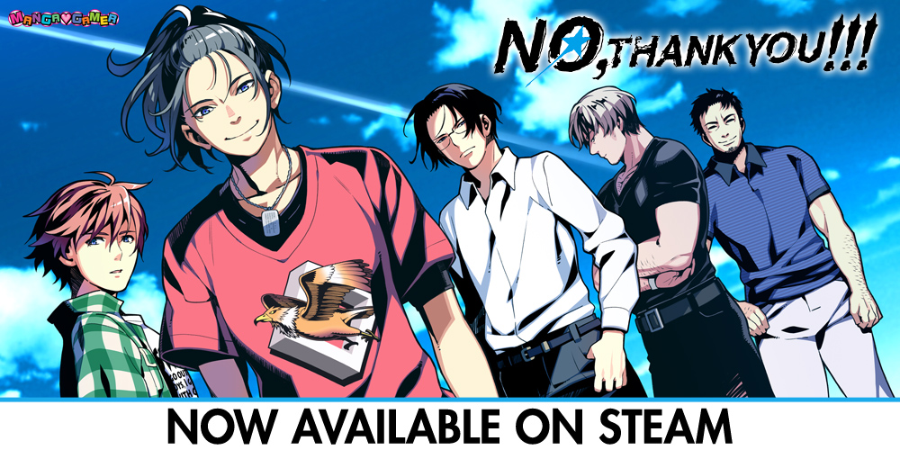 No, Thank You!!! –– Now Available on Steam!