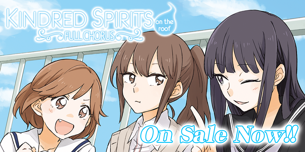 Kindred Spirits on the Roof ~ Full Chorus ~ On Sale Now!