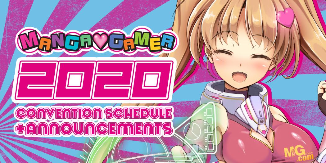 2020 Announcements & Con Schedule