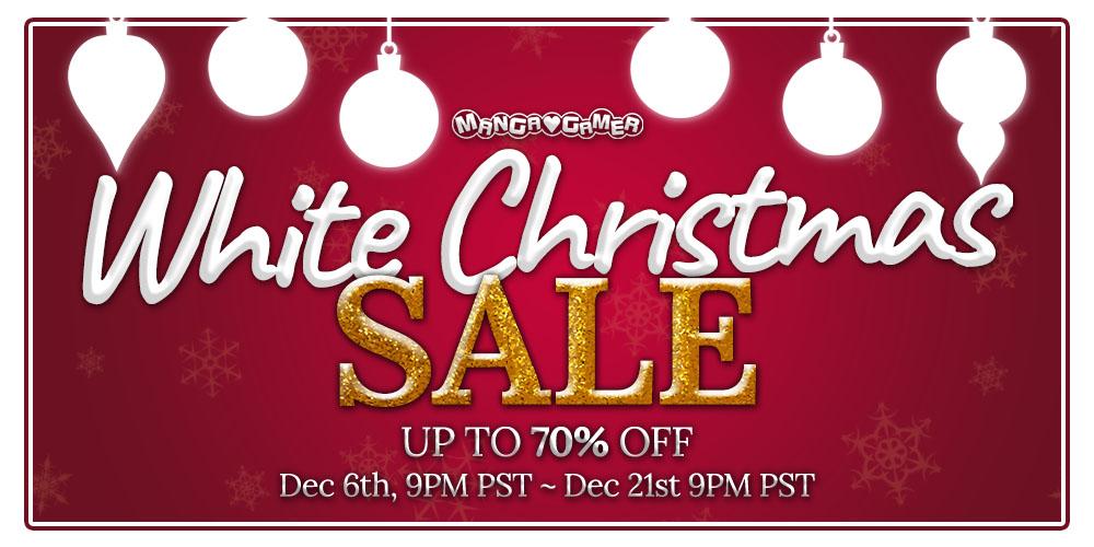 MangaGamer White Christmas Sale