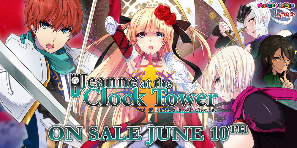 Jeanne at the Clock Tower — On Sale June 10th!